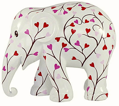 This beautiful Tree of Love elephant from Elephant Parade is available to buy at Selfridges as part of the #travelstomyelephant venture. It is not only a charming ornament, but profits from the sale go towards funding Elephant Family's projects.